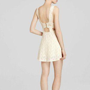 FREE PEOPLE Textured Lace Poppy Dress Tea-XS,S,M,L